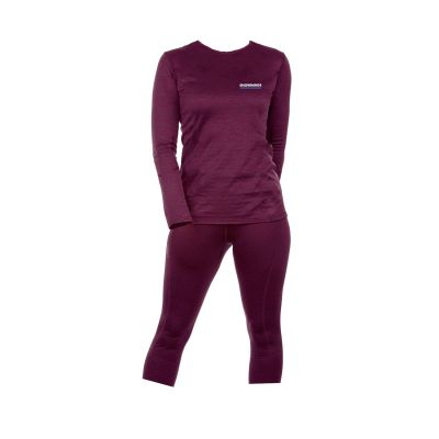 Marvellous Merino Set Women - Bordeaux - Women