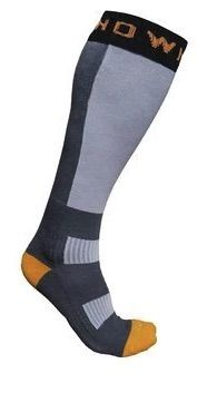 Thermal Nuclear Ski Socks - Grey Unisex - Grey (EU 37-41)