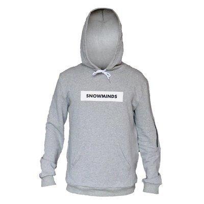 Box hoodie - Grey - Unisex