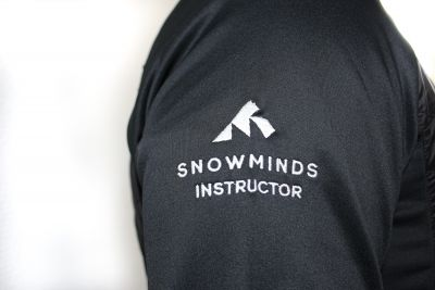 The Snowminds Instructor Midlayer - All Black - Men