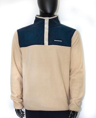 Fleece pullover - Beige - Unisex