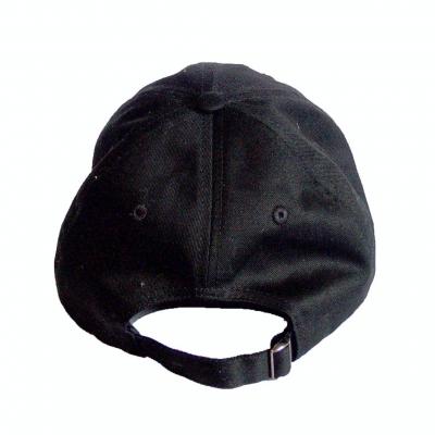 Golfer Cap Unisex - Black OneSize
