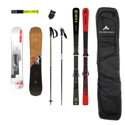 The SKI & SNOWBOARD Instructor Package