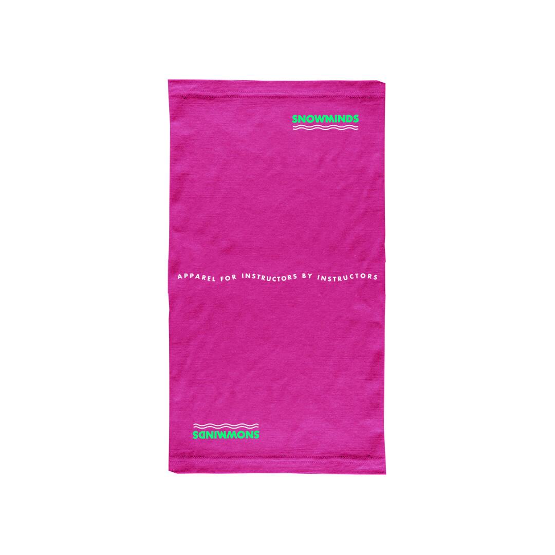 Merino Neck Gaitor - Unisex - Pink