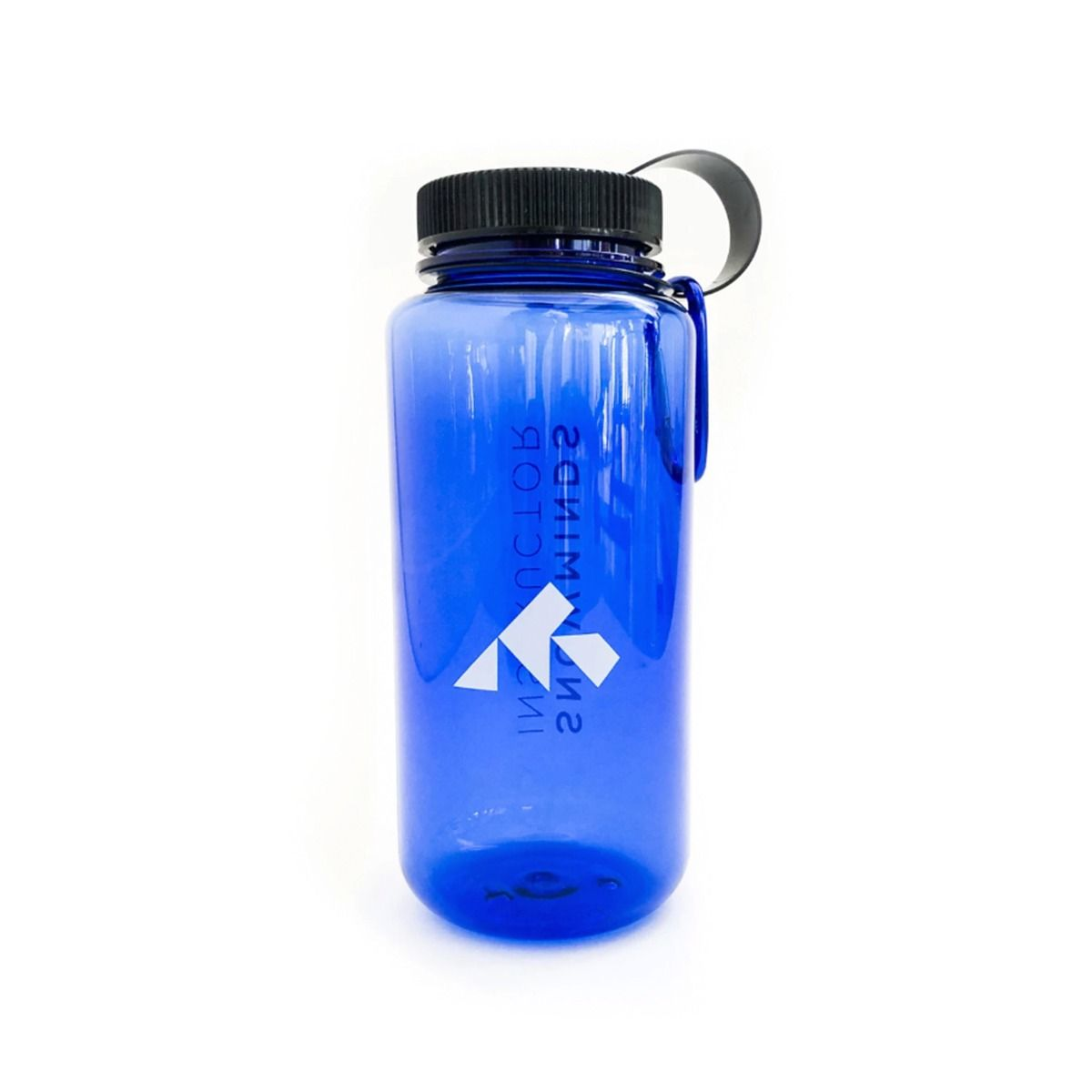 Water Bottle with carabiner (BPA Free) Unisex - Blue OneSize