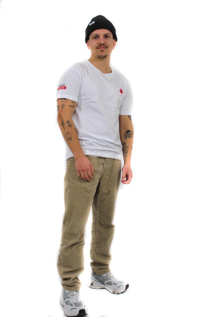 Ski t-shirt - Canada Instructor Tee - White - Unisex