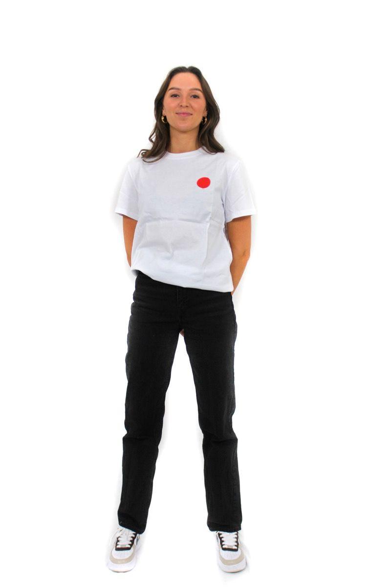 Ski t-shirt - Japan Instructor Tee - White - Unisex