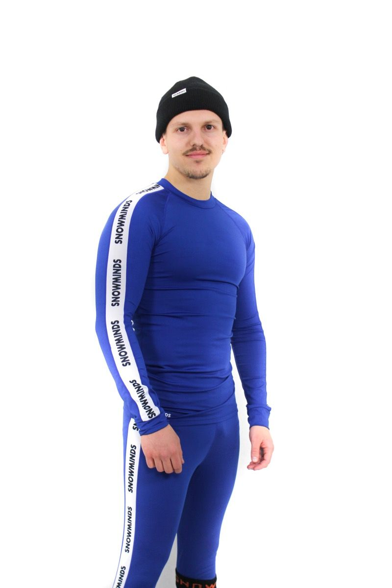 Hokkaido Ski Underwear Men - Blue