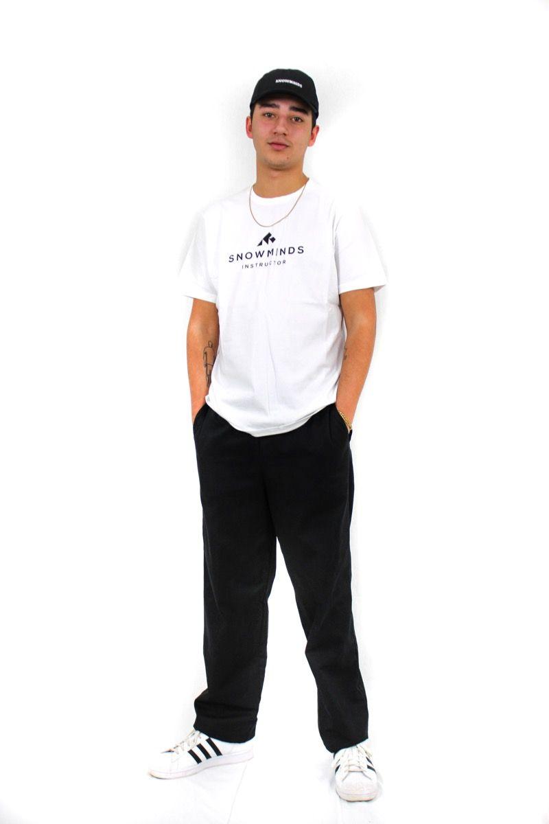 Ski t-shirt - Instructor Tee - White - M