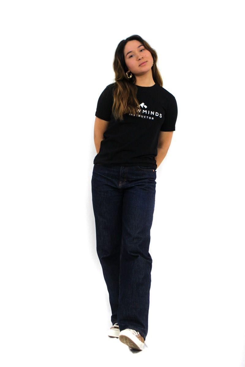 Ski t-shirt - Instructor Tee - Black - W