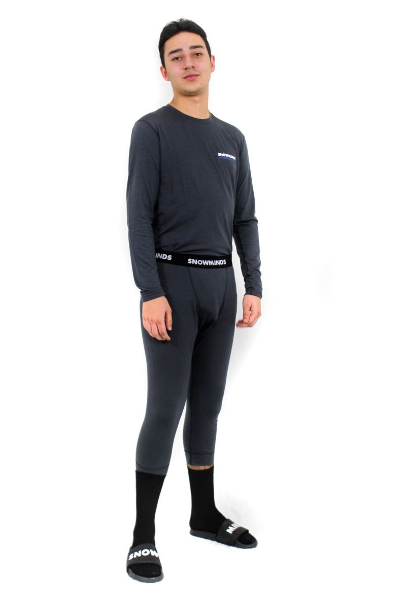 Marvellous Merino Set - Space Grey - Men
