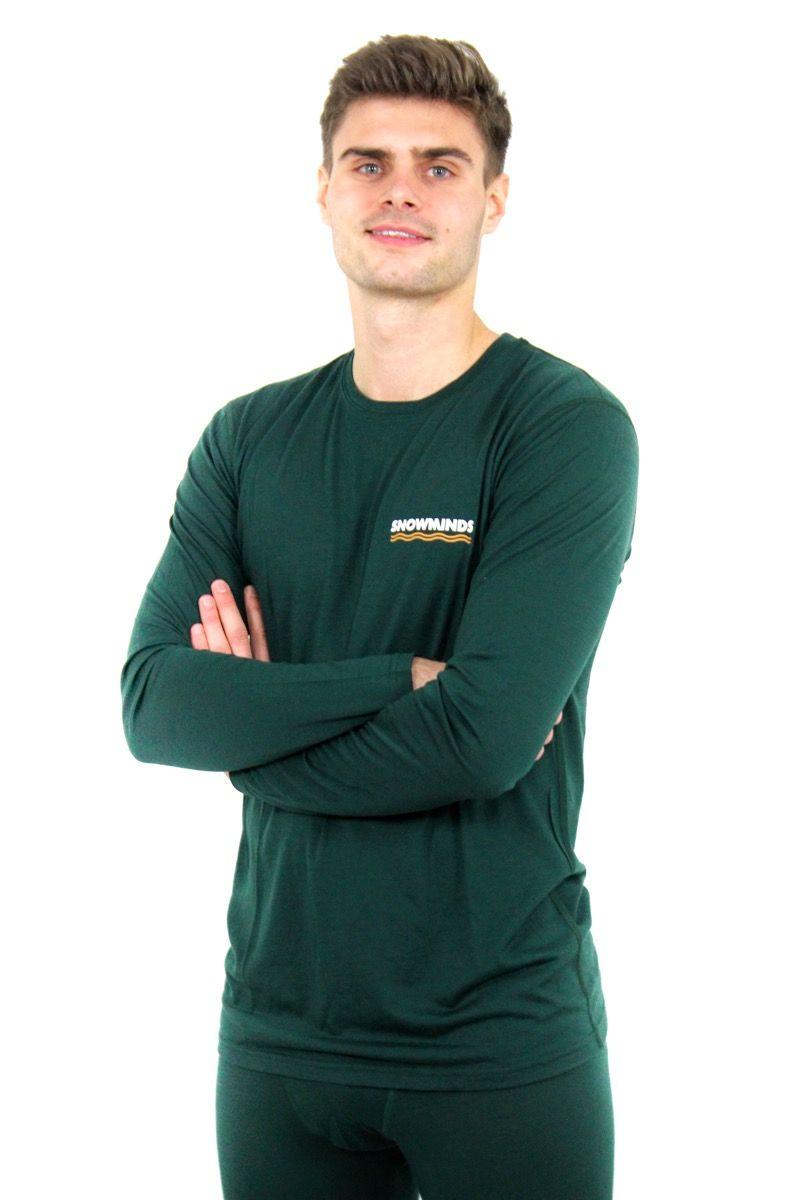 Marvellous Merino Set Men - Green - Men