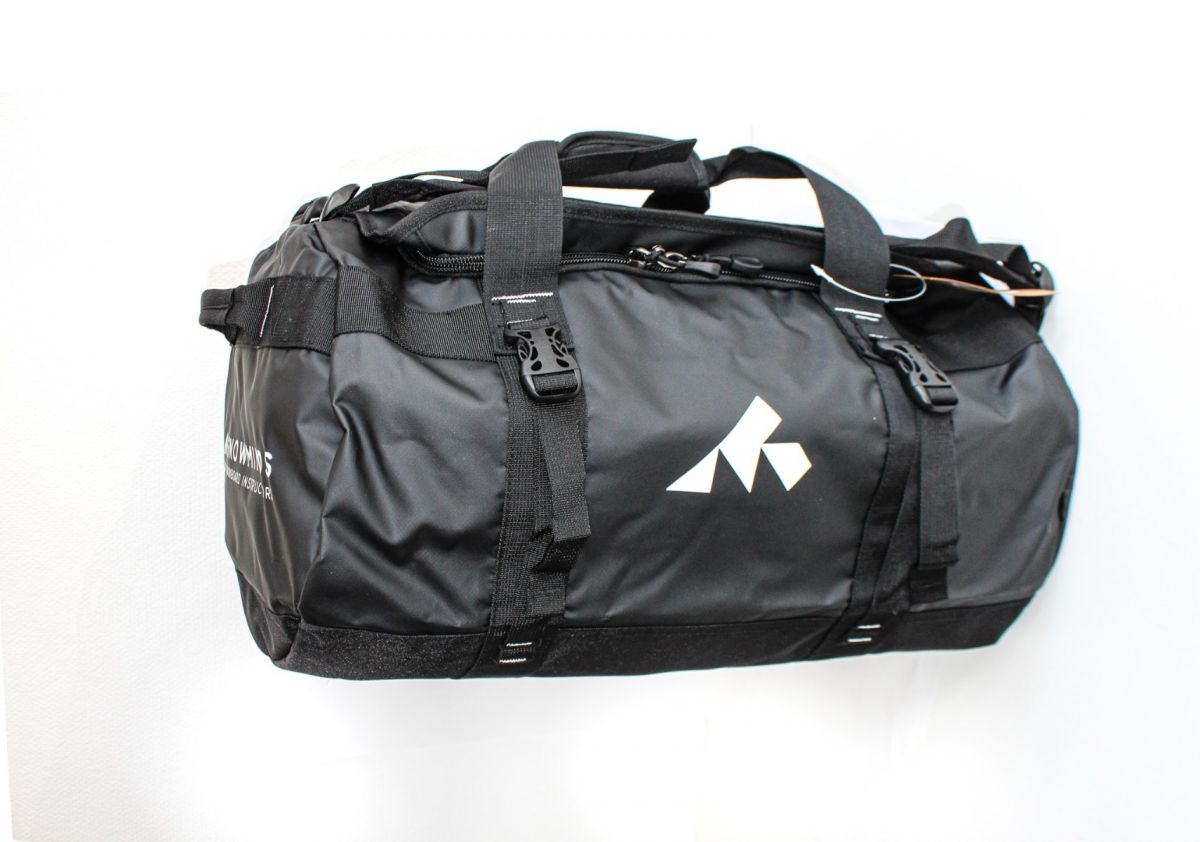 Snowminds Adventure Duffle Bag (50L) Unisex  - Black